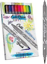 Online Calligraphy Calli Art Pen Set, Assorted Colors, Double Tip, German Made