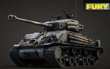 """1:16 - DECALS - water decal - Sherman M4A3E8 - Normandy - famous """" FURY """" tank"""