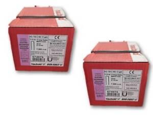 Haubold Klammer original 2x KG 735 C NK 12 geh NEU 15000 Stück Art. Nr. 574976