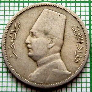 EGYPT FUAD 1929 BP 2 MILLIEMES