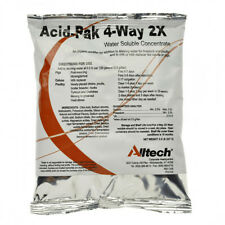 ACID PAK 4 WAY 2X Water Acidifier W/Enzymes and Electrolytes Poultry Hogs 8oz