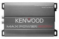 Kenwood KAC-M1814 400 Watts 4-Channel Marine Boat ATV UTV Car Audio Amplifier