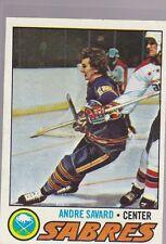 1977-78 TOPPS HOCKEY ANDRE SAVARD #118 SABRES NRMT *54679