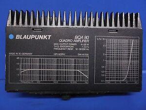 Porsche (1987-1994) 911 & 964 & 928 OEM Blaupunkt Amplifier Amp 92864540502