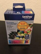 LC75CL XL color BROTHER ink Printer MFC J835DW J825DW J625DW J435DW J430W J425W