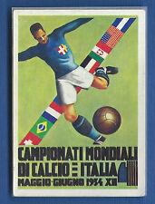 FIGURINA CALCIATORI PANINI ARGENTINA 78 - RECUPERO - N.5 MANIFESTO ITALIA 1934