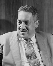 1957 Civil Rights Attorney THURGOOD MARSHALL Glossy 8x10 Photo NAACP Print