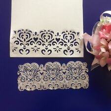 Metal Die Cutter Handmade Wedding Invitations Envelope Border Cutting Die DC1252