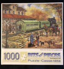 Ruane Manning Jigsaw Puzzle 1000 Bits & Pieces Welcome Home to Lambertville
