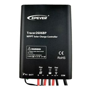 Epever 10A MPPT Waterproof Solar Charge Controller 12V/24V Regulator PV 60V IP65