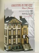 "Dept 56 Christmas in the City ""7400 Beacon Hill"""