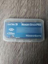 SANDISK MEMORY STICK PRO CARD 256MB