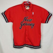 57030559c33 Nike NBA New Jersey Nets XL Red Warm-Up Jacket Shooting Shirt