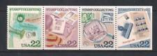 USA 1986 Ameripex '86 Stamp Collecting Booklet Stamps, SG2209/2212, MNH