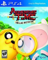 NEW Adventure Time: Finn and Jake Investigations (Sony PlayStation 4, 2015)