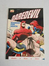 Daredevil Marked For Death 1 TPB, (1990), 1st Print, Marvel Black Widow Bullseye