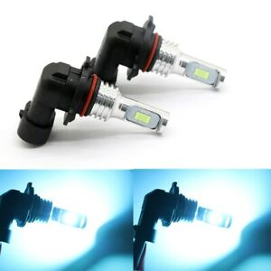 9005 HB3 8000K Ice Blue 6000LM CSP LED Headlight Bulbs Conversion Kit High Beam