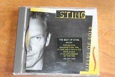 The Police - Sting - UK CD - Fields of Gold Best of - A&M Records – 540 307-2