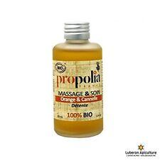 Huile de massage BIO détente Orange et Cannelle - Propolia 100ml Made In France