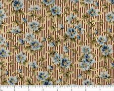BOLT END Cotton Quilting Fabric #1159 RJR Pandolph Maison Bleue 36x42