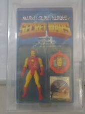Vintage Mattel 1984 Secret Wars Iron Man AFA Graded 75 Y-EX+/NM C70 B80 F90
