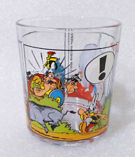 RARE Vintage Water Cup ✱ ASTERIX ✱ Nutella Collection Glass 1997