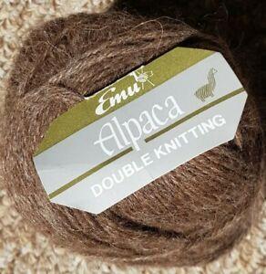 Emu Alpaca DK Yarn 23 x 25g