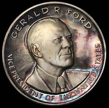 1973 President Gerald Ford Official Proof Silver Inauguration Medal Medallic Art