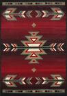 "ORIENTAL BURGUNDY AREA RUG 8 X 11 LARGE Persien 53 - ACTUAL 7' 8"" x 10' 8"""