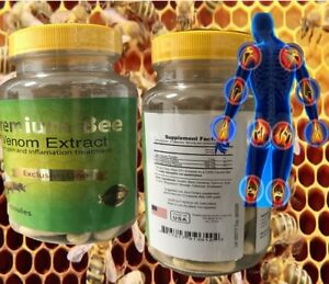 NATURAL BEE Venom Extract anti-inflamatory Extracts Arthritis Pain Abee therapy.