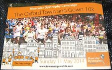 Advertising Charity Event Muscular Dystrophy Oxford Town & Gown