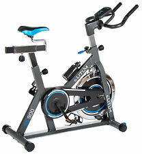 Indoor Cycle SX900 Indoorcycling Fitnessbike Speed Bike Computer + Trinkflasche