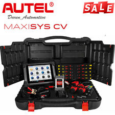 Autel MaxiSys CV Commercial vehicles Diagnostic Scanner Scan Tool F Heavy Duty