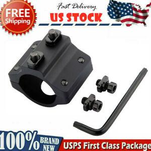 """Tactical M-LOK Offset Light Mount 1"""" Ring Mount for Flashlight Scope  MLOK Rail"""