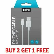 Boxed USB Lightning Charger & Data Cable For Apple iPad iPhone 5 5s 5c 6 7 8 X