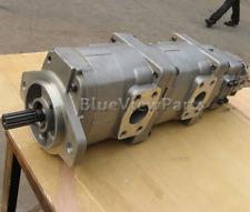 Pilot pump gear pump 705-56-26080 for Komatsu wheel loader WA200-5