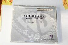 TODD RUNDGREN Public Servant  RARE EDIT PROMO Radio DJ CD Single 1991