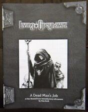 D&D A Dead Mans Job RPGA Module,Living Greyhawk Campaign WOTC