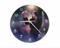 Message Bearer Boxed Glass Picture Clock CK01 - Cindy Grundsten