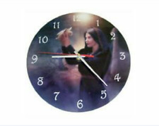 Message Bearer Boxed Glass Picture Clock CK01 - Cindy Grundsten