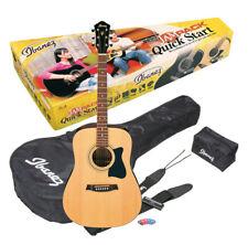 Ibanez V50NJP-NT Jampack Westerngitarre Set inkl. Tasche + Gurt + Tuner + Pics