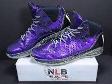 "Adidas Rose 3 ""Nightmare Before Christmas"" G59648 Purple 2/24/12 Men's Size 13"