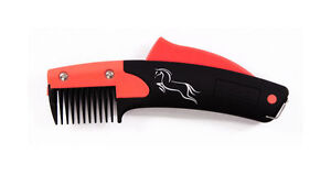 Solocomb or Solo Rake Humane Groomer for Horses Grooming Tail Thinner