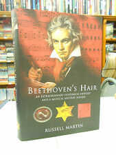 Beethoven's Hair by Russell Martin (Hardback, 2000) 1st edition