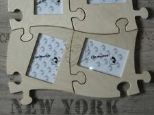 2 Stk. Puzzle - Bilderrahmen - 10x15 Collage Fotogalerie Fotorahmen