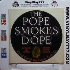 """12"""" LP David Peel & the Lower East Side The Pope Smokes Dope 1972 Apple SW3391"""