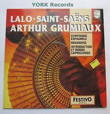 6570 192 - LALO - Symphonie Espagnole GRUMIAUX / ROSENTHAL - Ex Con LP Record