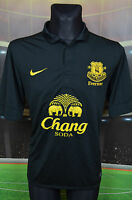 EVERTON NIKE 2012-13 AWAY FOOTBALL SHIRT (L) JERSEY TOP TRIKOT CAMISETA BLACK