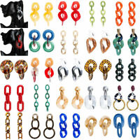 Fashion Acrylic Geometric Dangle Drop Statement Women Earrings Jewelry