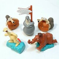 Ice Age Movie McDonald's Happy Meal Toys